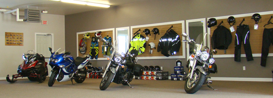 Bolger Motor Sports Showroom